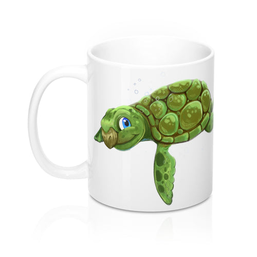 Sea Turtle Mug 11oz