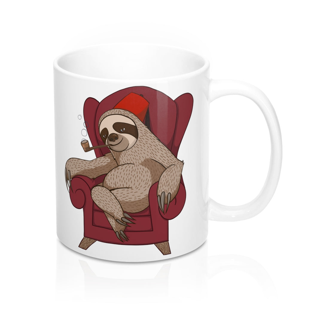 Sophisticated Sloth Coffee Mug