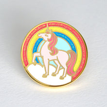 Rainbow Unicorn Enamel Pin