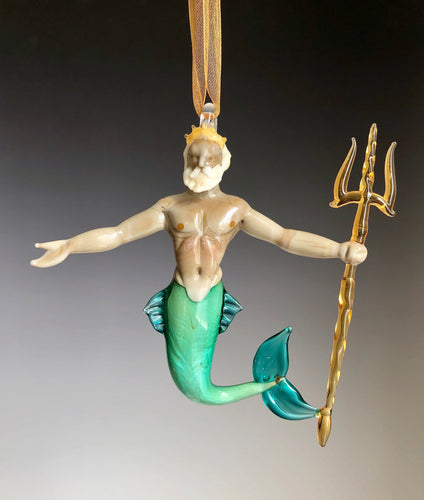 Glass Triton Ornament