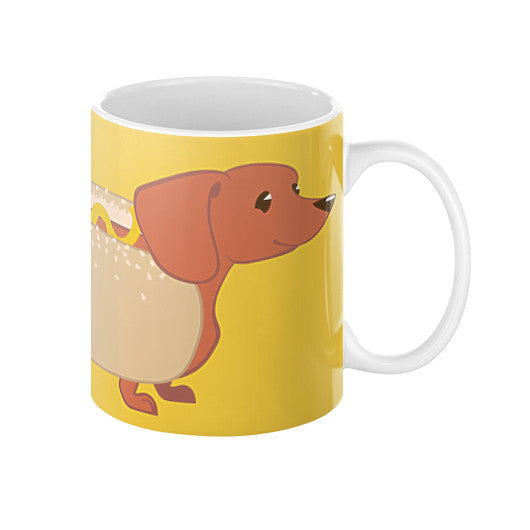 Hotdog Dog Coffee Mug - Sharptooth Snail