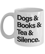 Introverts Unite Mug- Dogs Books Tea Silence