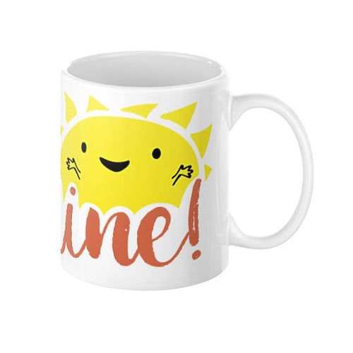 Good Morning Sunshine Coffee Mug  Sharptooth Snail