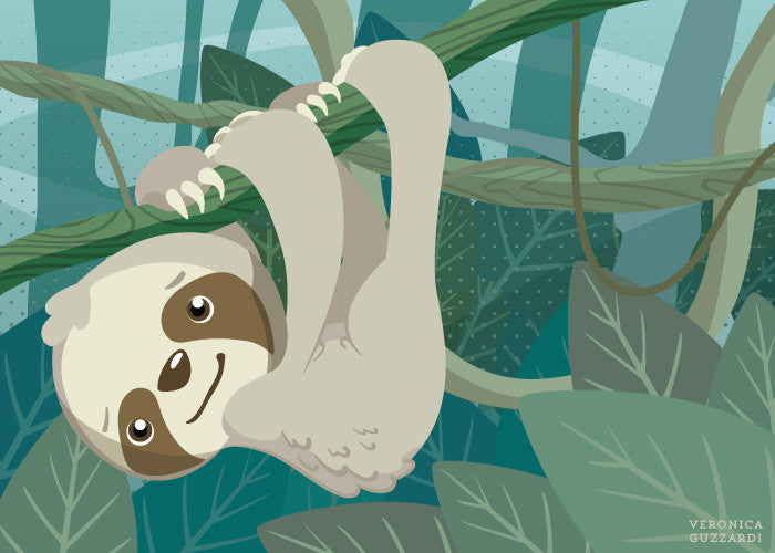 Hang In There, Little Sloth Digital Download