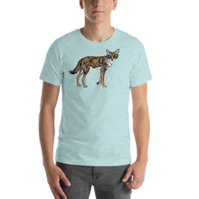 Cool Coyote with Sunglasses Short sleeve men's t-shirt