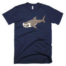 "Whale Shark ""Hi"" Short sleeve men's t-shirt"