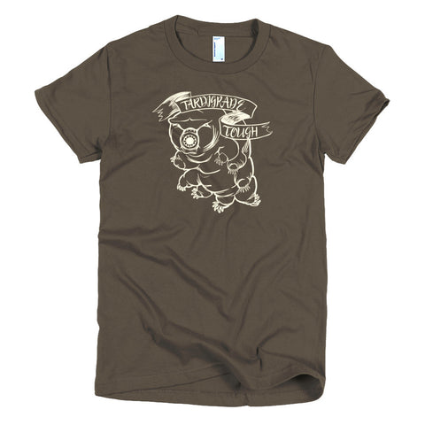 Tardigrade Tough Monochrome Short sleeve women's t-shirt