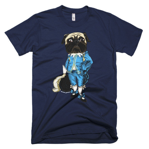 Blueboy Pug Short sleeve men's t-shirt