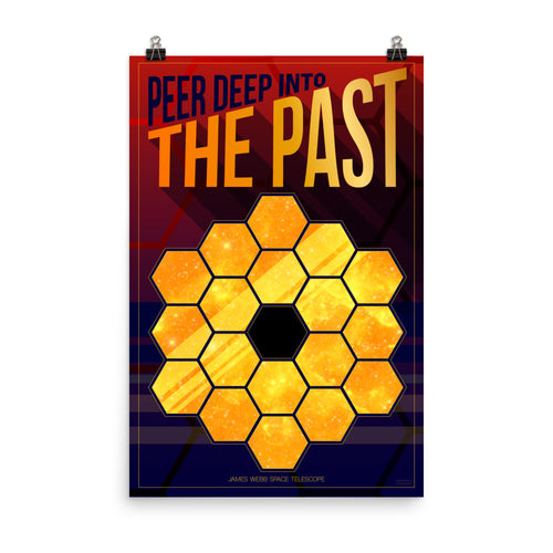 James Webb Space Telescope Poster