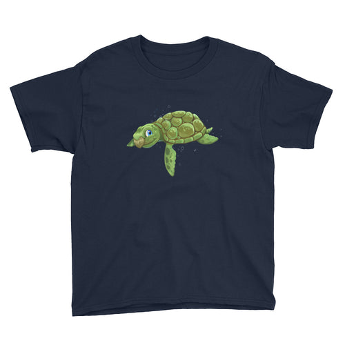 Sea Turtle Youth Short Sleeve T-Shirt
