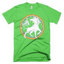 Sparkly Rainbow Unicorn Short sleeve men's t-shirt