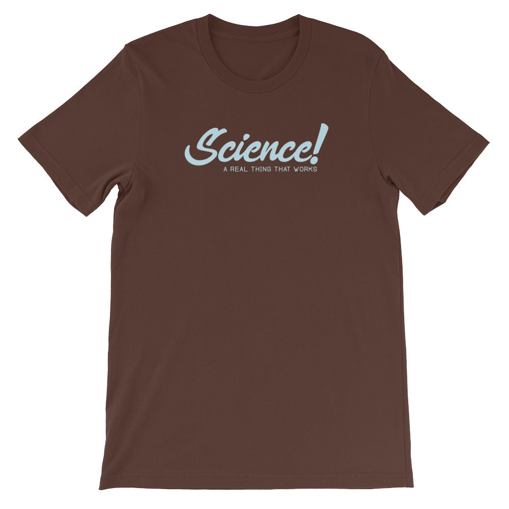 Science! Unisex short sleeve t-shirt