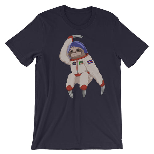 Space Sloth Short-Sleeve Unisex T-Shirt