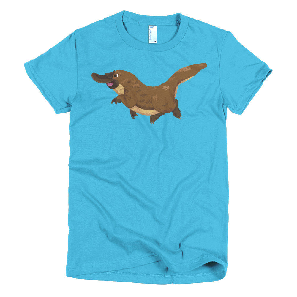 Platypus Short sleeve women's t-shirt