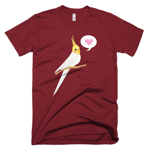Chirpy Cockatiel Short sleeve men's t-shirt