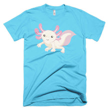 Cute Axolotl Short sleeve unisex t-shirt