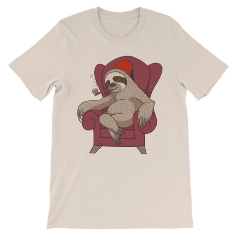 Sophisticated Sloth Unisex short sleeve t-shirt