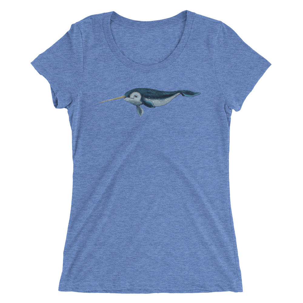 Narwhal Ladies' short sleeve t-shirt