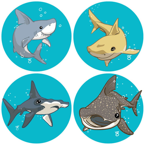 Shark Pin Pack