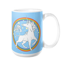 Sparkly Rainbow Unicorn Coffee Mug 15oz - Sharptooth Snail