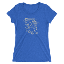 Tardigrade Tough Women's Cut tri-blend t-shirt