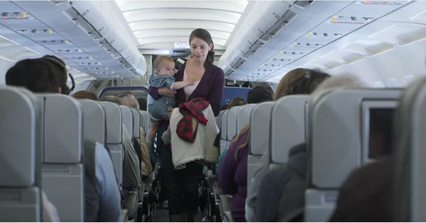 How to fly with baby infant