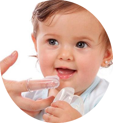 Silicone Finger Toothbrush Teething sign and symptoms