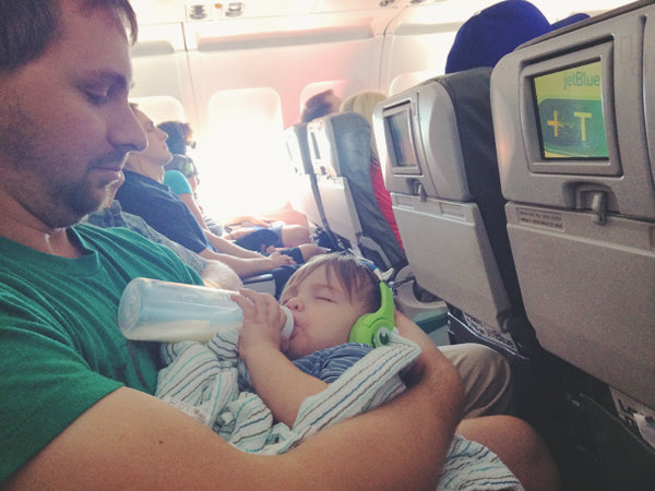 How to fly with new born baby