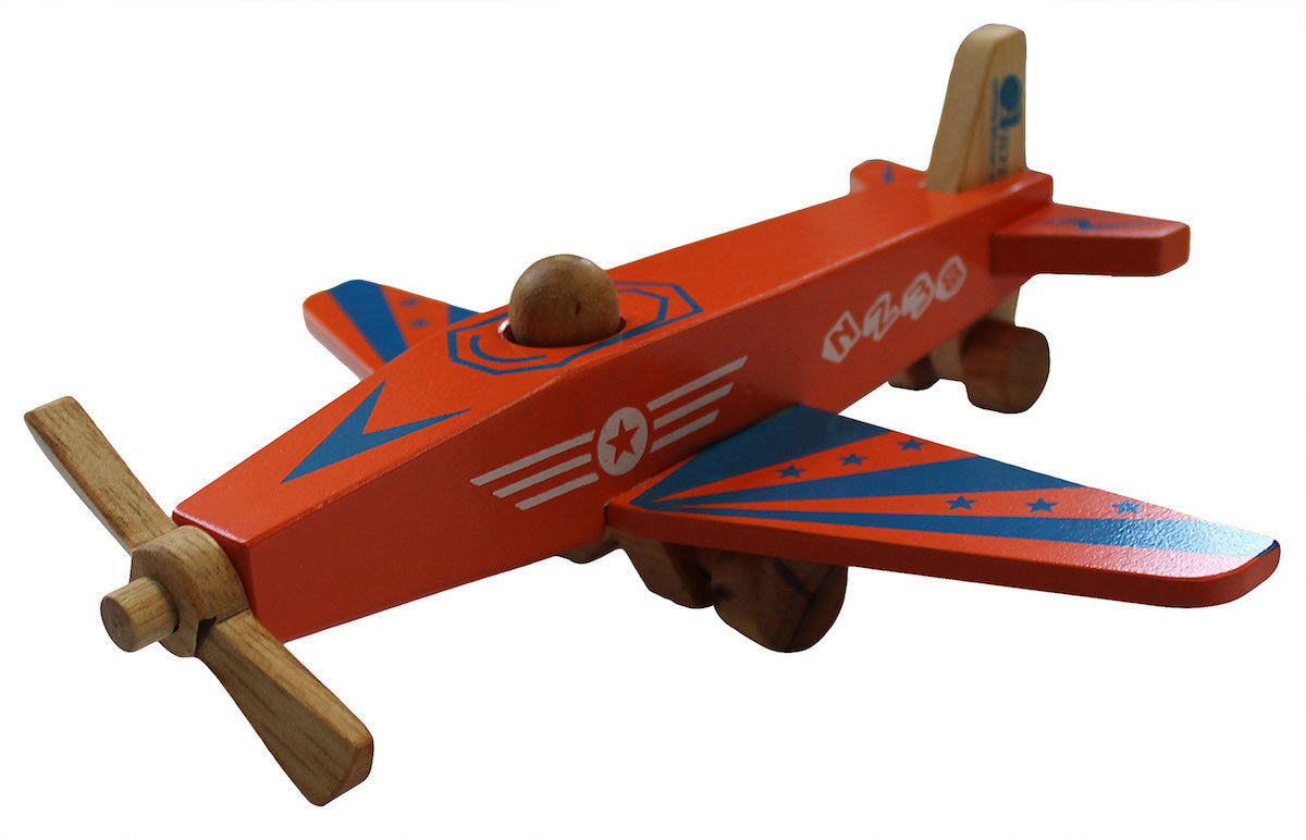 Wooden Airplane for kids.