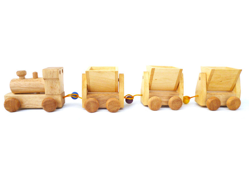 Classic Vintage style   Wooden Train toy for Kids