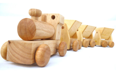 Wooden Toy Train in Australia