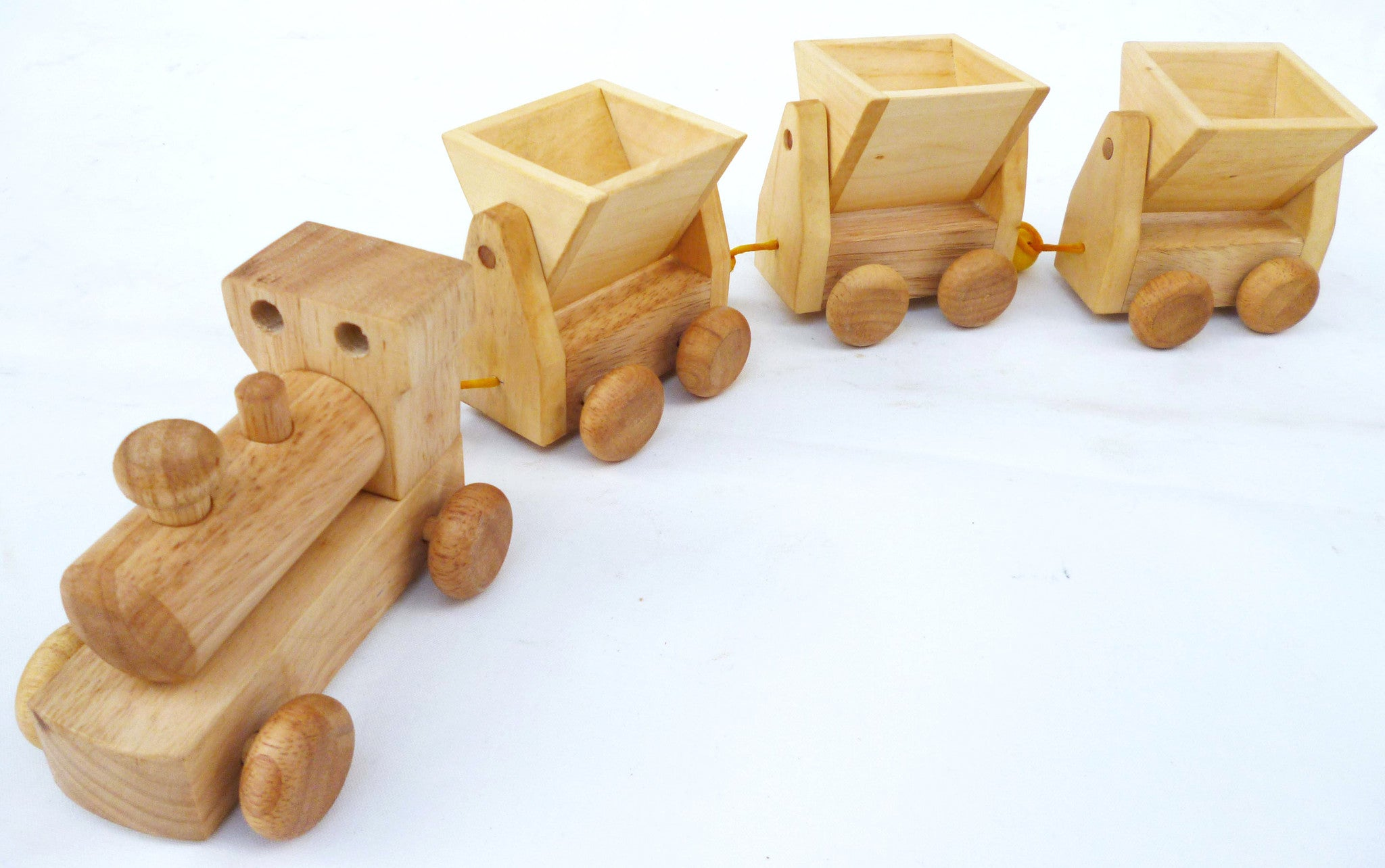 Classic Wooden Train with carriage
