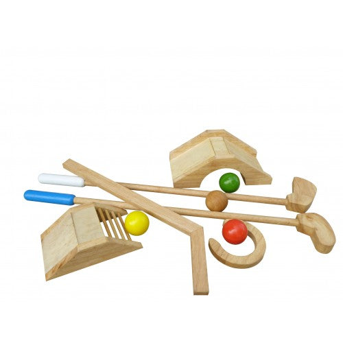 Wooden Toys for Baby MINI GOLF SET