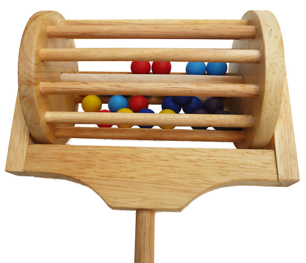 Wooden walker for baby