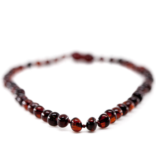 Adult Cherry Amber Necklace