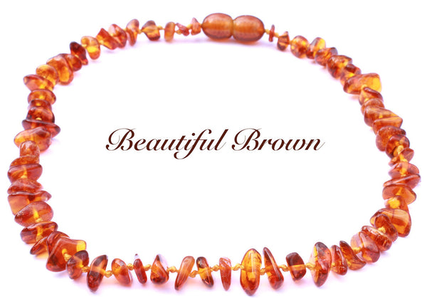 Certified Baltic Amber Teething necklace