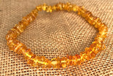 Honey Amber Anklet