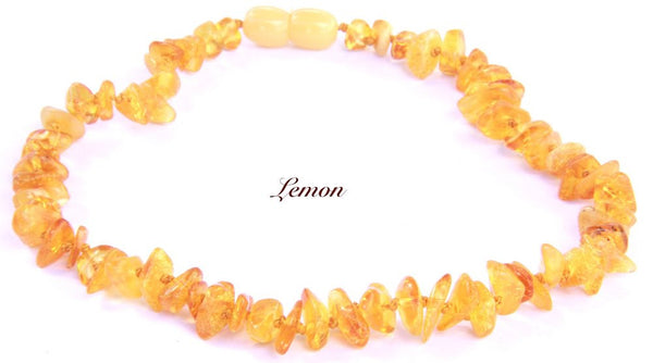 Amber beads for baby