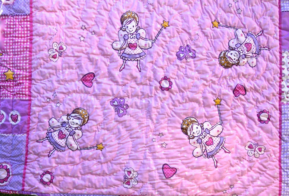 Preimum handmade Baby Quilt - Quilt for baby Girl