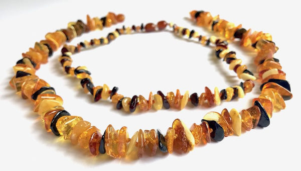 Set for Mother and Baby | Nuggets Amber necklace