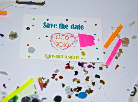 carte a gratter save the date
