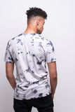 Men's Light Grey/Iron Batik T-shirt