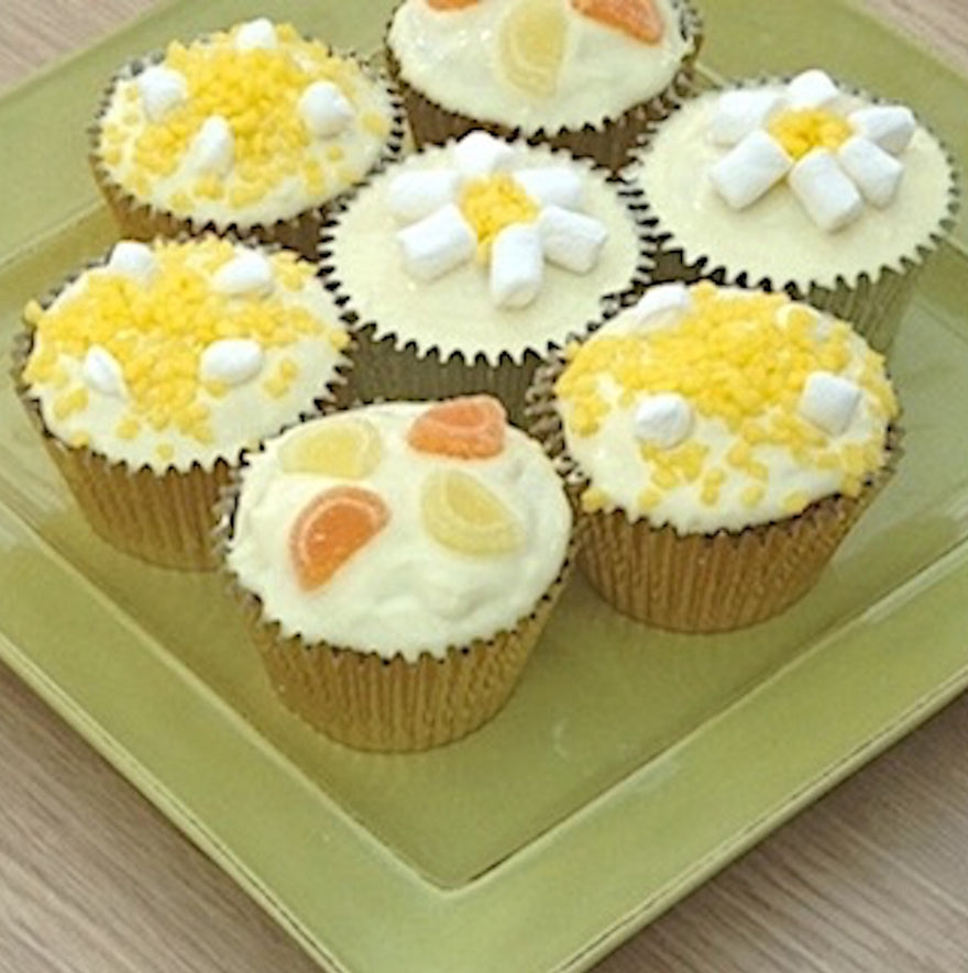 Quick Easy Recipe Ideas Lemon And White Chocolate Cupcakes Muffins Robins And Sons Chocolate Uk