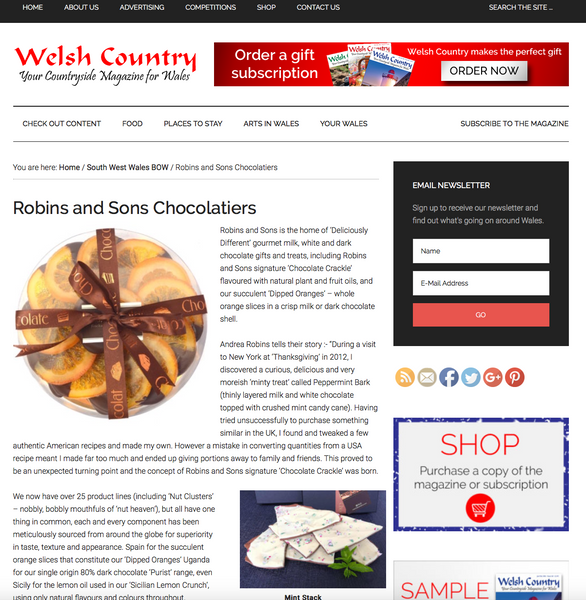 Welsh Country Magazine - 'Best of Welsh'