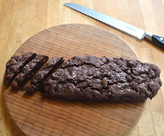 Recipe double chocolate and almond biscotti