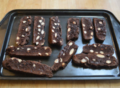 Recipe dark chocolate and almond biscotti