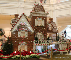 Gingerbread house Disney Grand Floridian Hotel