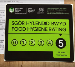 Robins and Sons Chocolate Food Standards Agency FSA rating
