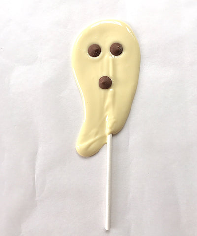 Halloween party cake recipe - ghost lollipops