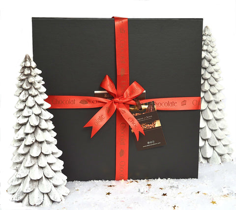 Corporate chocolate gift box xmas